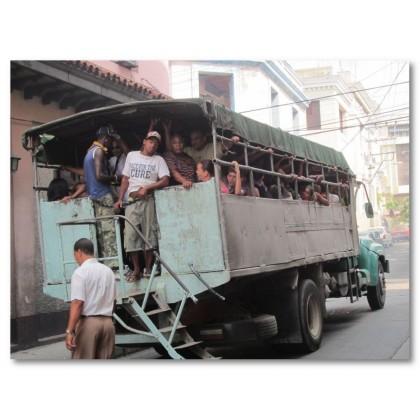 Αφίσα (φτωχός, άνθρωποι, Κούβα, δρόμος)